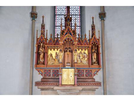 Hochaltar aus der Neogotik