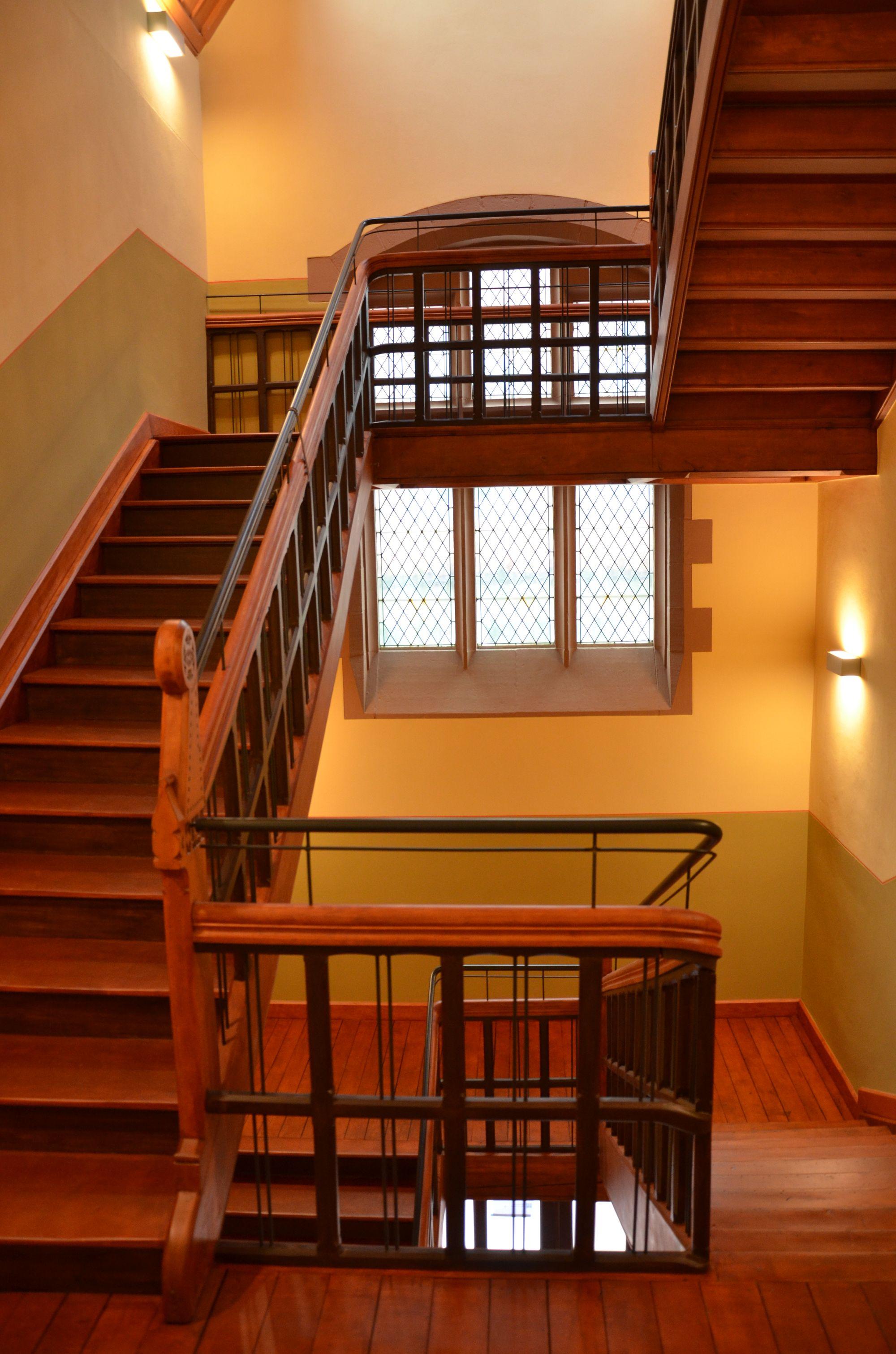 Neogotische Treppenanlage